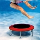 aqua jump fitness class at Dartry Health Club