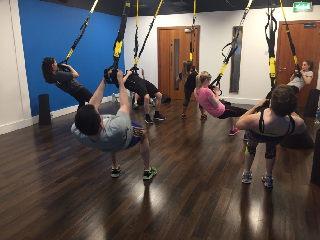 TRX Classes at the Dartry Health Club