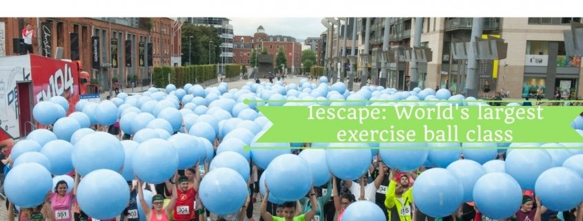 1escape World's Largest Exercise Ball Class