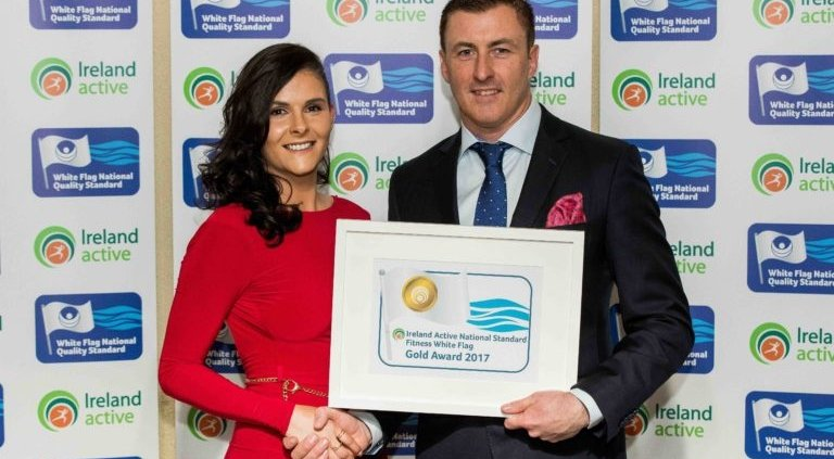 Barry Walsh and Gabrielle Finglas Oneescape Award