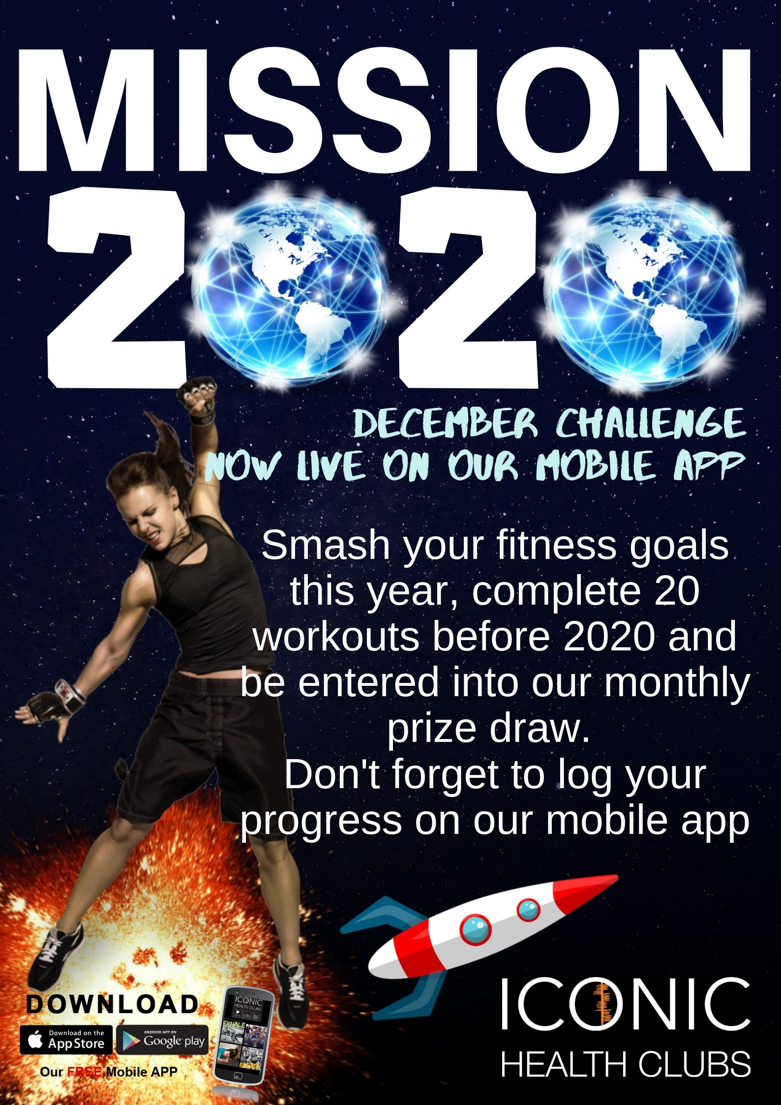 Gym Challenge dublin Mission 2020